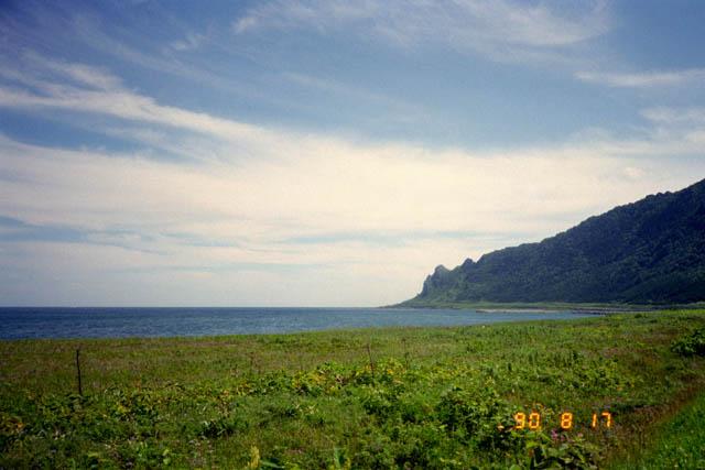 宗谷岬から南下