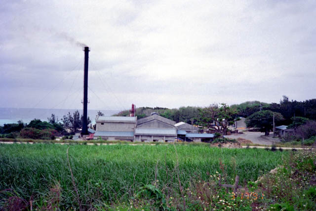 サトウキビ工場