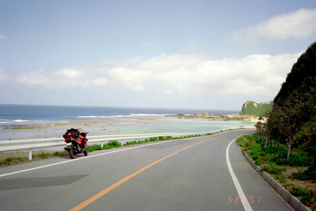 沖縄北部の道