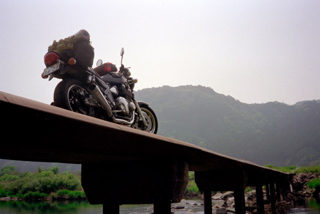 紀伊半島の沈下橋