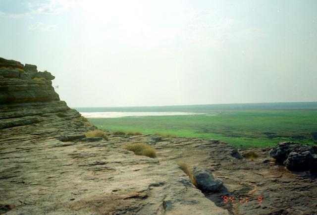 カカドゥ国立公園にて