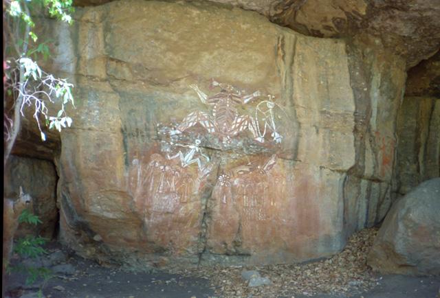 カカドゥ国立公園の壁画