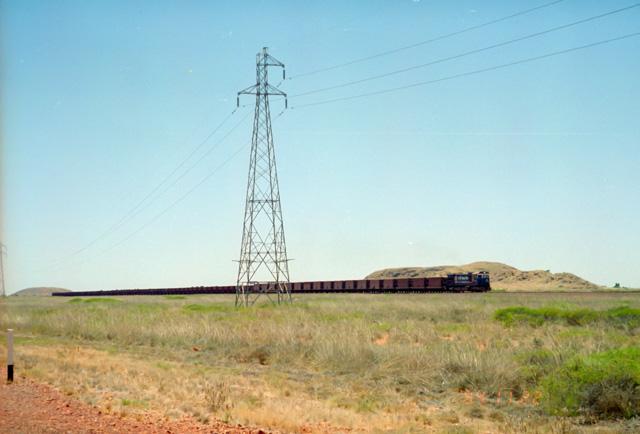 オーストラリアの列車