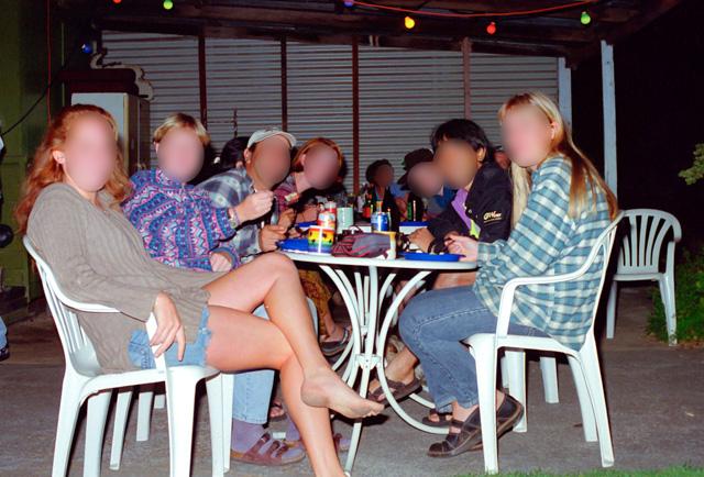 ドーニーブルックの宿でのパーティー