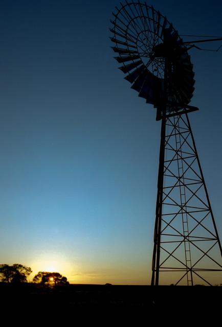 オーストラリアの風車