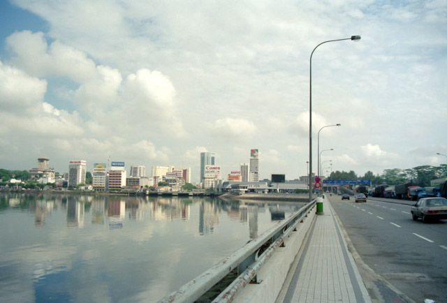 シンガポール-マレーシア国境