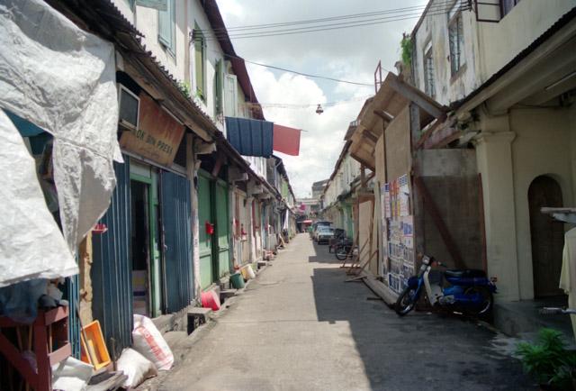 マレーシアの町