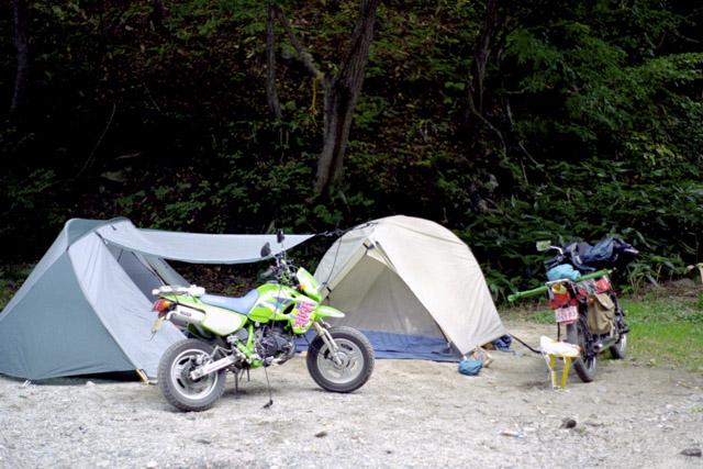 福島でキャンプ