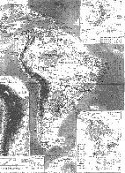 南アメリカ大陸行程図