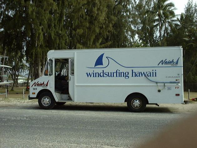 ナッシュハワイのバン