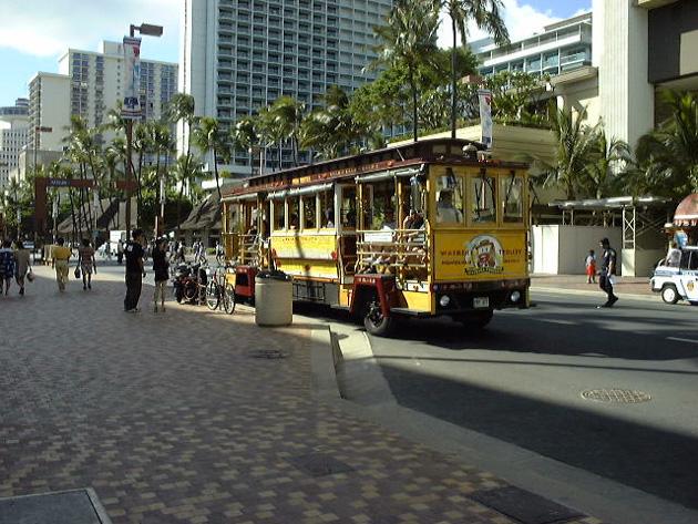ハワイ・ワイキキの街