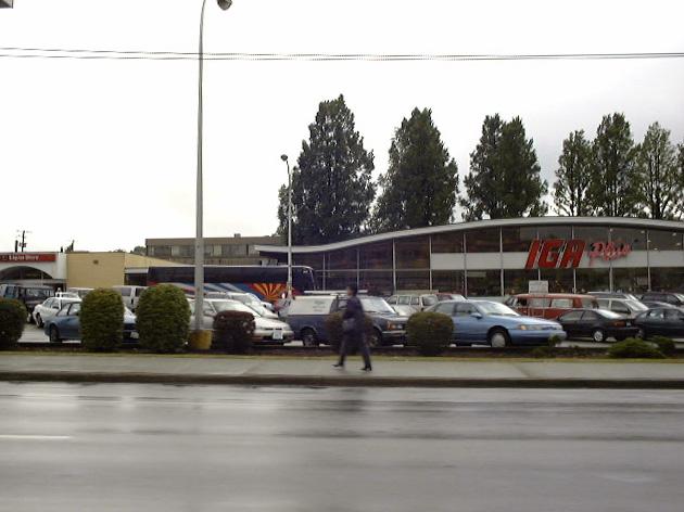 バンクーバーのIGAスーパーマーケット