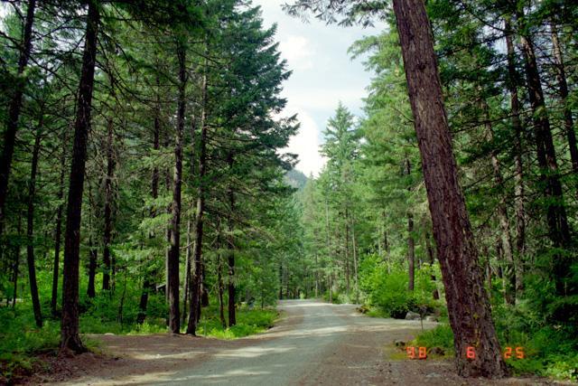 ネアーン・フォールズ州立公園のキャンプ場
