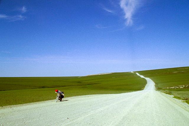 ダルトンハイウェイ・北極圏を走る
