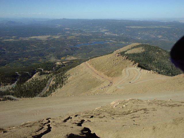 標高4300mまで走れるパイクスピーク