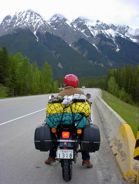カナダツーリング・ロッキー山脈