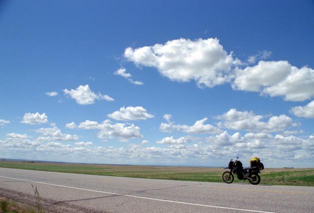 カナダ横断タンデムツーリング・カナダの大平原