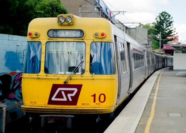 オーストラリア・ブリスベンの電車