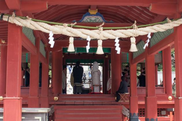 鶴岡八幡宮で結婚式
