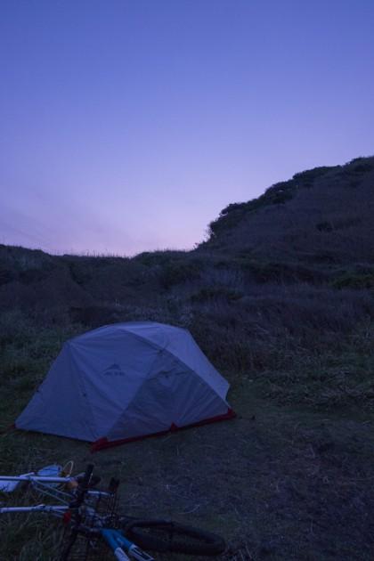 三浦半島キャンプ
