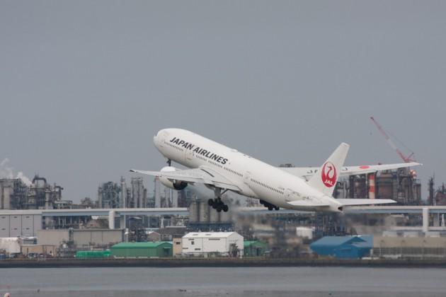 第1旅客ターミナルで撮影した飛行機