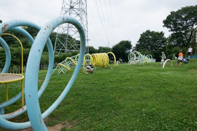 全ての遊具がグルグルしているトルネード公園