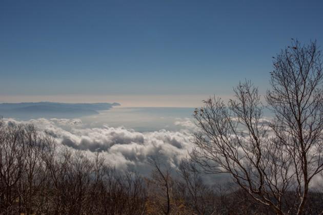 富士宮新五合目からの眺め