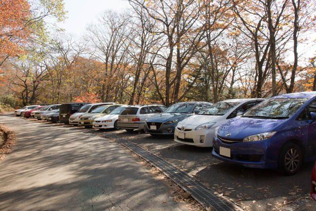 大菩薩領の駐車場