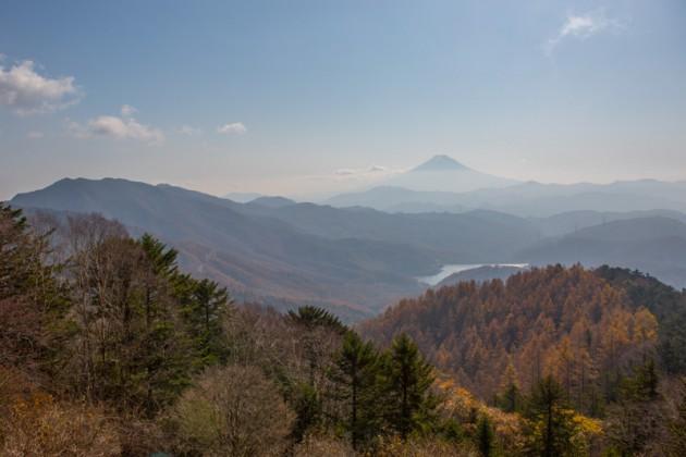 大菩薩嶺から見た富士山