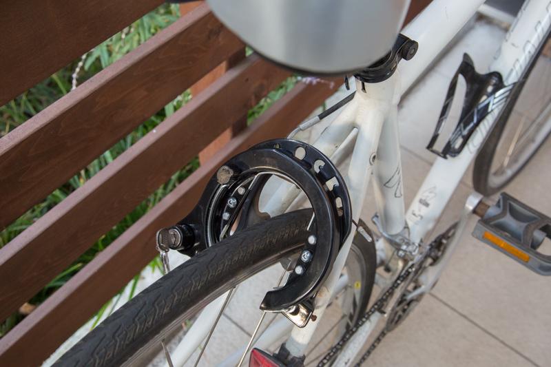 [自転車] Sirrus A1 子供が乗るクロスバイクにサークル錠を装着 ...