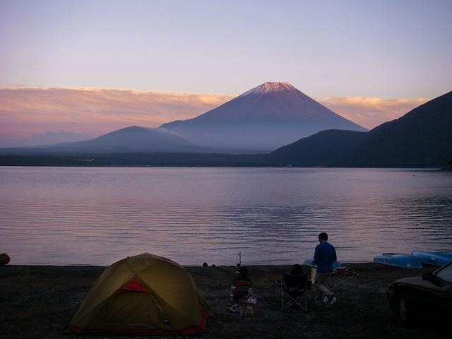 場 富士山 キャンプ