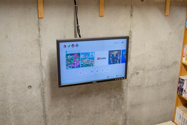 コンクリート壁にテレビやモニターを壁掛けする手順