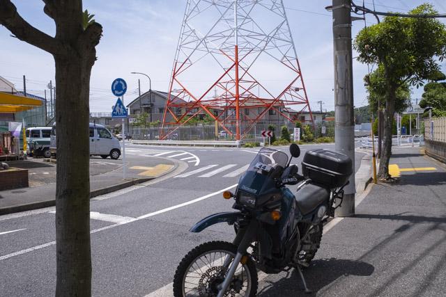 横須賀市ハイランドの環状交差点