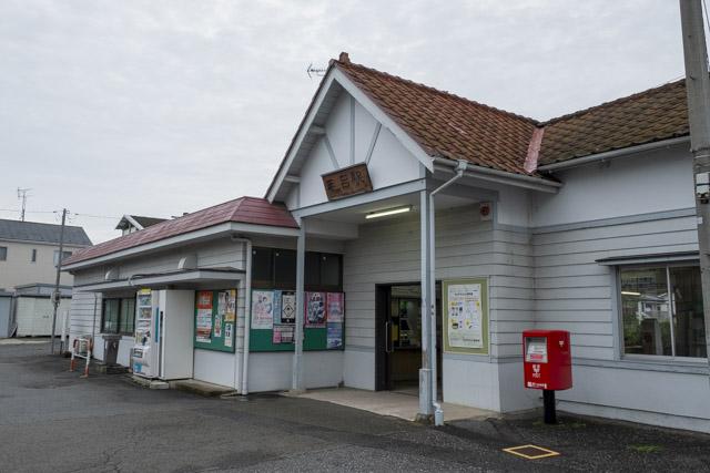 レトロな雰囲気の毛呂駅