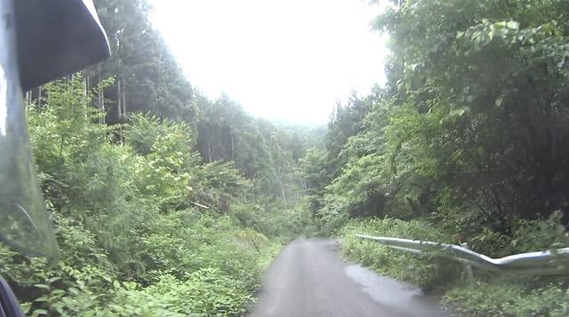 林道・栗山七重線