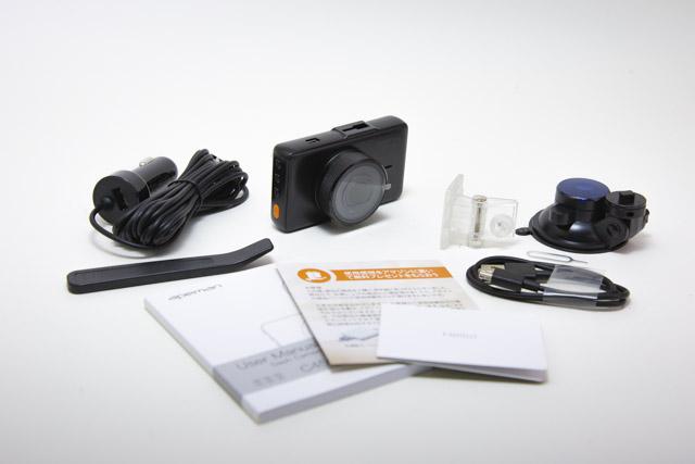APEMAN C450A ドライブレコーダー内容物