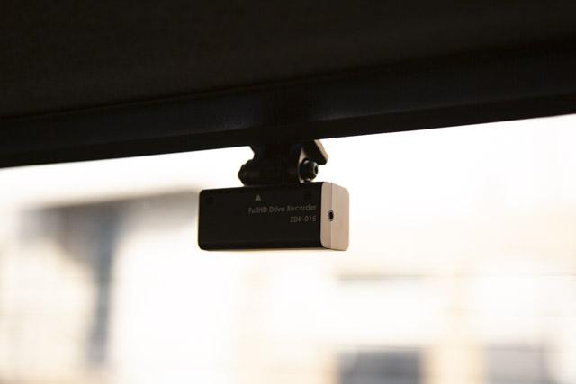 コムテック ZDR-015 リアカメラ取り付け