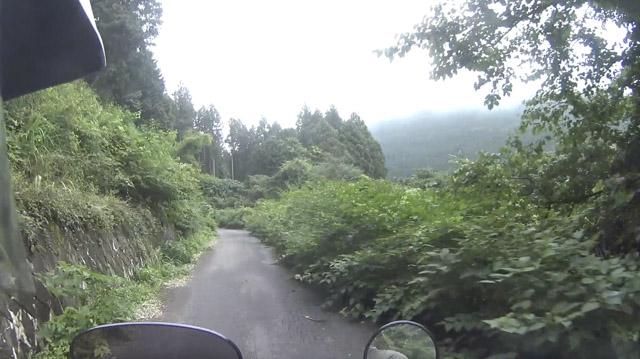 空が広い林道・栗山七重線