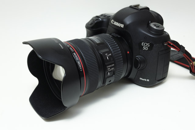 Canon 5D3 と 24-105mm F4L IS USM