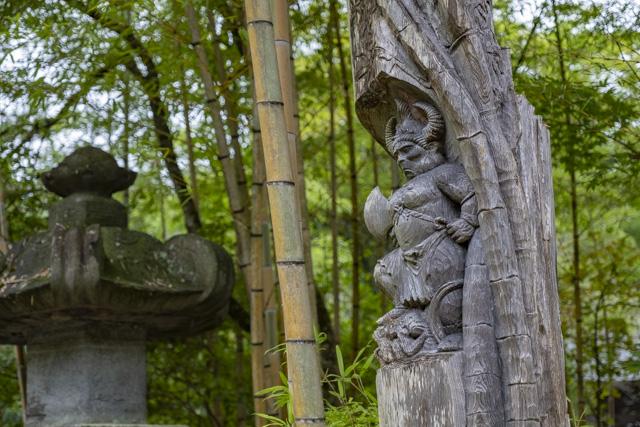 牛頭天王を祀る竹寺