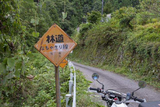 東京 林道・なちゃぎり線