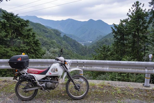 林道・越沢線からの展望