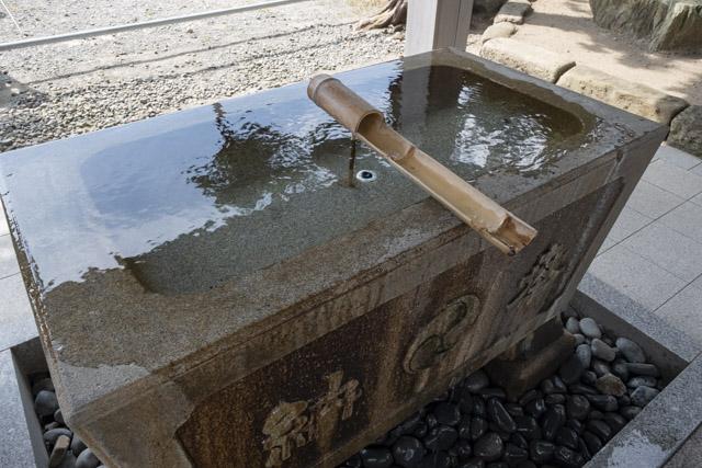 森戸神社の手水舎