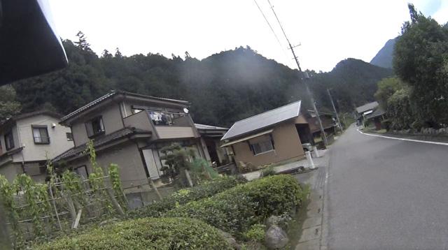 林道・桐の木平線の入口