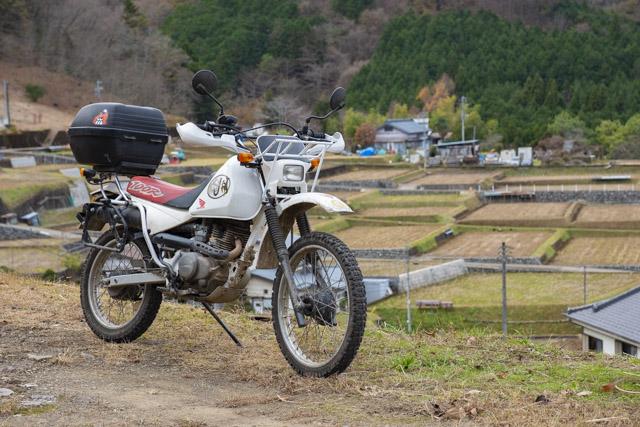上野原市・秋山の棚田を見学