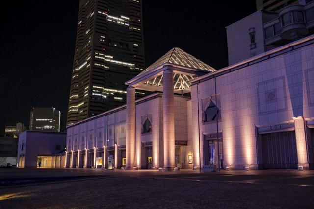 横浜美術館・横浜のイルミネーション散策