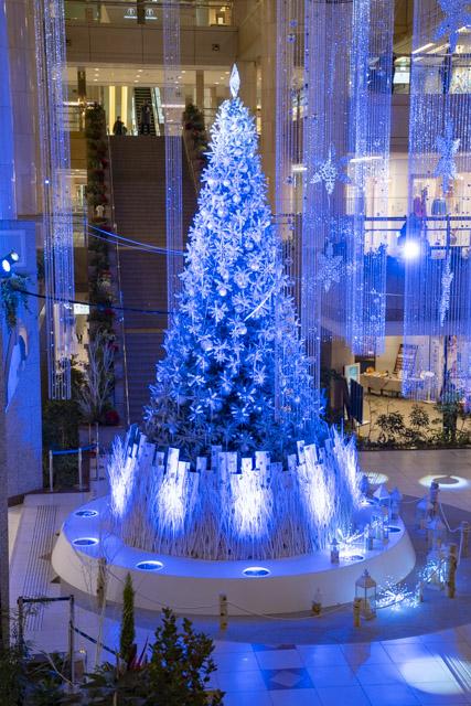 ランドマークタワーのクリスマスツリー・横浜のイルミネーション散策
