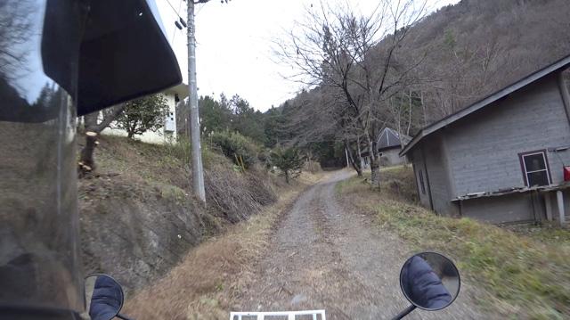山梨【林道・道志口線】