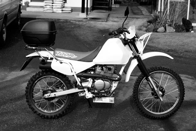 XR100Rアドベンチャー仕様 1998年