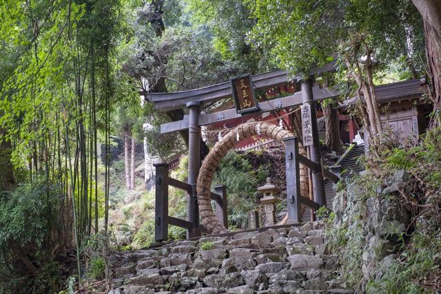 神仏習合の寺・竹寺(八王寺)